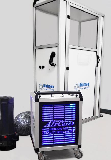 Bio Room In-Corridor Anteroom or Abatement Door