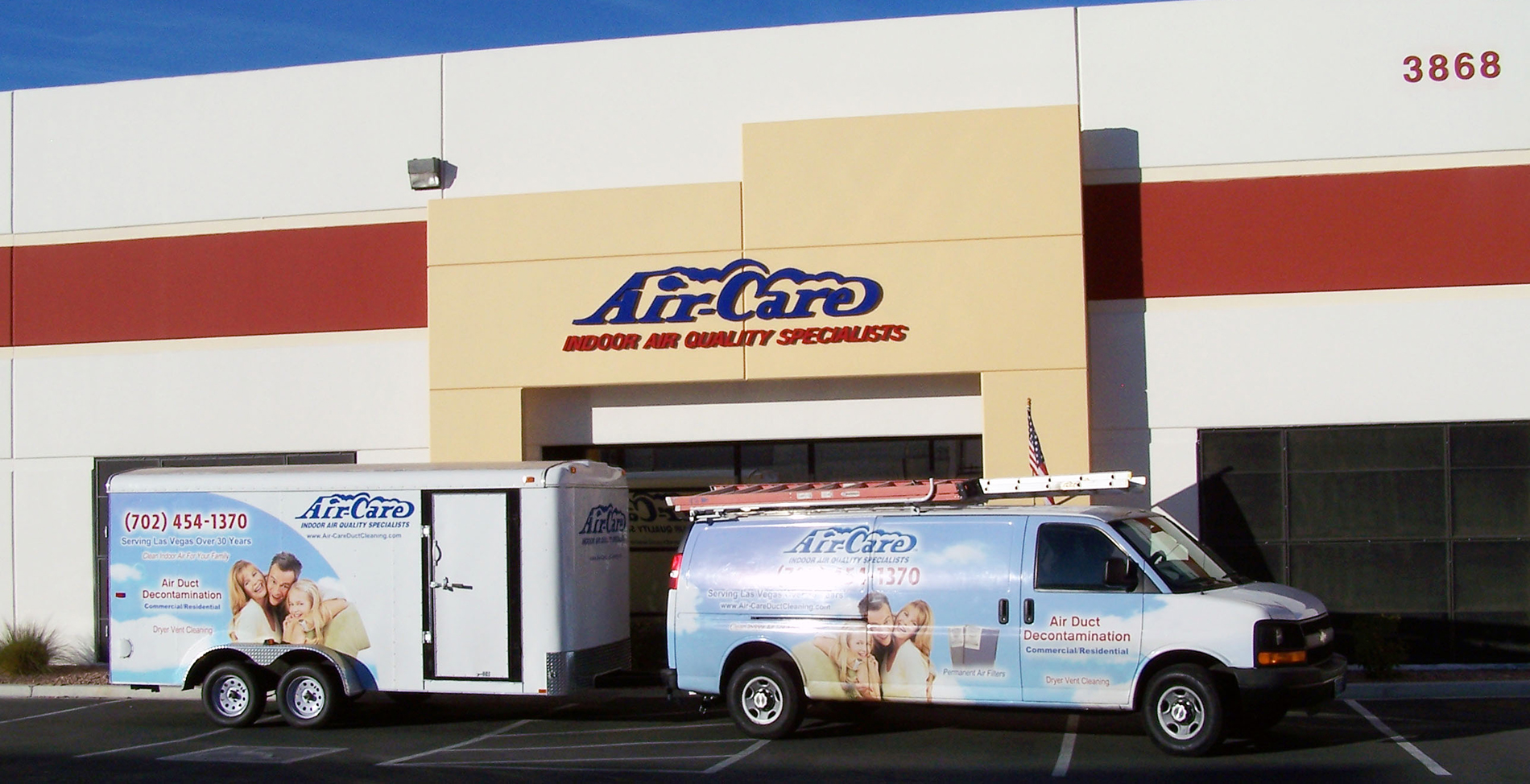 Air-Care Indoor Air Quality Specialist Building